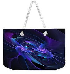 Galaxy Merger Weekender Tote Bag