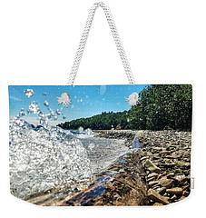Galaxy Splash Weekender Tote Bag