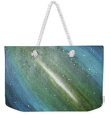 Galaxy's Eye Weekender Tote Bag by Cyrionna The Cyerial Artist