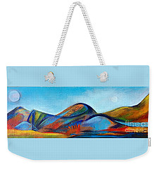 Galaxyscape Weekender Tote Bag by Elizabeth Fontaine-Barr