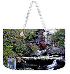 Weekender Tote Bag featuring the photograph Galde Creek 2 by Ann Bridges
