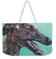 Galgo Espanol Spanish Greyhound Weekender Tote Bag