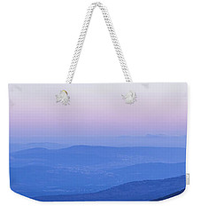Galilee Mountains Sunset Weekender Tote Bag by Yoel Koskas