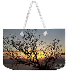 Weekender Tote Bag featuring the photograph Galilee Sunset by PJ Boylan