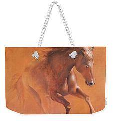 Gallop In The Desert Weekender Tote Bag
