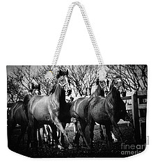 Galloping Horses Weekender Tote Bag