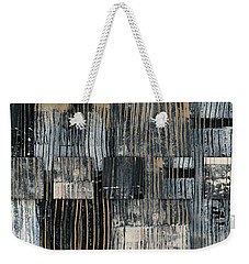 Weekender Tote Bag featuring the photograph Galvanized Paint Number 2 Horizontal by Carol Leigh