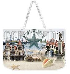 Galveston Texas Weekender Tote Bag