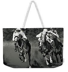 Gambling Horses Weekender Tote Bag