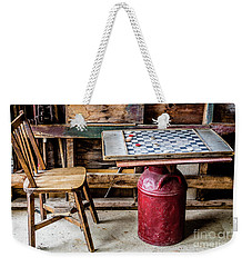 Game Of Checkers Weekender Tote Bag by M G Whittingham