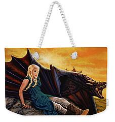 Game Of Thrones Painting Weekender Tote Bag