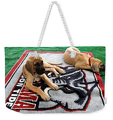 Gameday Great Dane Puppies Weekender Tote Bag