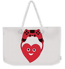Gamer Heart Weekender Tote Bag