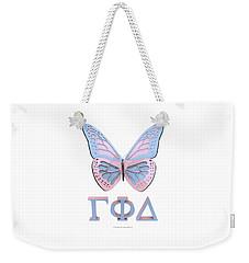 Gamma Butterfly Wings 3d Weekender Tote Bag