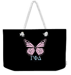 Gamma Phi Delta Classy Butterfly  Weekender Tote Bag