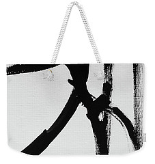 Weekender Tote Bag featuring the painting Gamut by Robin Maria Pedrero