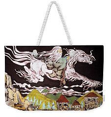 Gandalf And Shadowfax Weekender Tote Bag