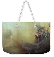 Gandalf Pipe Weed Weekender Tote Bag by Joe Gilronan