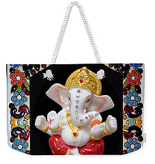 Ganesha Frame Weekender Tote Bag