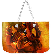 Ganesha Hindu God Asian Art Weekender Tote Bag