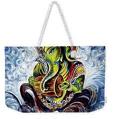 Ganesha Mridangam  Weekender Tote Bag