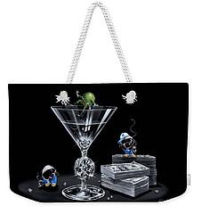 Gangsta Martini Livin' Large Weekender Tote Bag