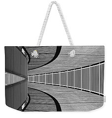 Weekender Tote Bag featuring the photograph Gangway by Chevy Fleet