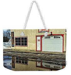 Garage Reflection Weekender Tote Bag