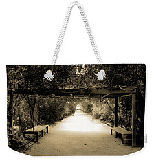 Garden Arbor In Sepia Weekender Tote Bag