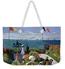 Garden At Sainte Adresse By Claude Monet Weekender Tote Bag