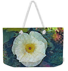 Garden Beauty Weekender Tote Bag by Kathie Chicoine