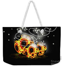 Garden Beginnings Weekender Tote Bag by Cathy  Beharriell