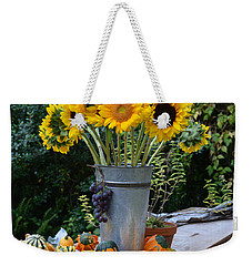 Garden Bounty In Yellow And Green Weekender Tote Bag