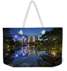 Weekender Tote Bag featuring the photograph Garden By The Bay, Singapore by Pradeep Raja Prints