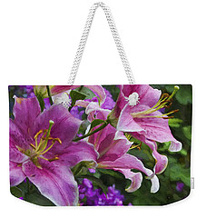 Garden Color Weekender Tote Bag