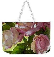 Garden Elegance Detail Image Weekender Tote Bag
