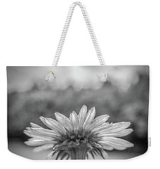 Garden Flower In Black And White Weekender Tote Bag by Henri Irizarri