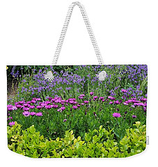 Garden Flowers Layers Weekender Tote Bag
