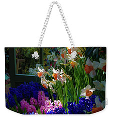 Garden House Delight Weekender Tote Bag