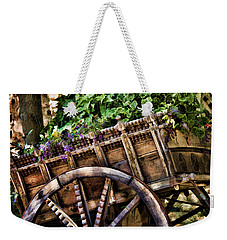Garden In A Wagon Weekender Tote Bag by Lana Trussell