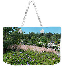 Garden In Maine Weekender Tote Bag by Catherine Gagne