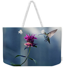 Weekender Tote Bag featuring the photograph Garden Jewelry by Everet Regal