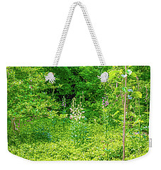 Weekender Tote Bag featuring the photograph Garden June 2016 by Leif Sohlman