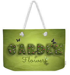 Garden Weekender Tote Bag by La Reve Design