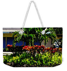 Garden Landscape 4 In Abstract Weekender Tote Bag