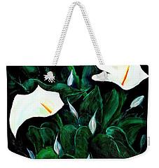 Garden Lilies Weekender Tote Bag