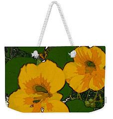 Garden Love Weekender Tote Bag