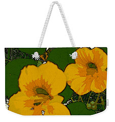 Garden Love Weekender Tote Bag by Winsome Gunning