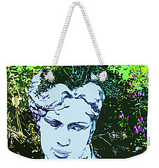 Garden Nymph Head Planter Weekender Tote Bag