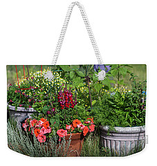 Garden Of Flowers Weekender Tote Bag